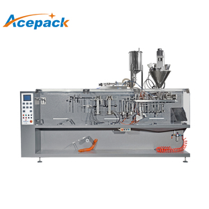 automatic honey filling zipper sachet packaging pharmaceutical liquid and food mineral water filling machine