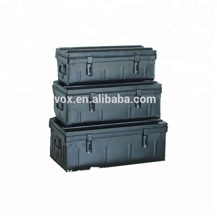 Cantine Metal Storage trunk colorful box