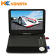 2017 NEWLED portable evd dvd player pricecar tft lcd dvd tv