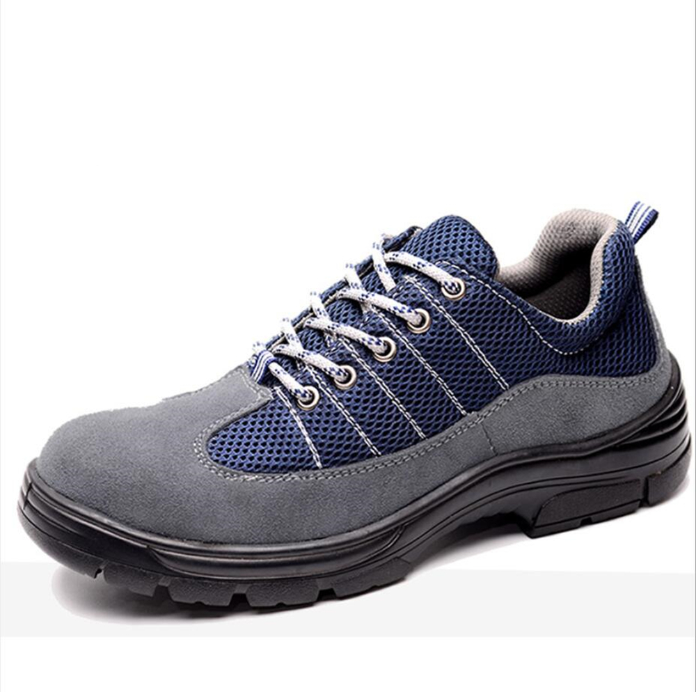 Comfortable Sport style Safety Shoes Working Shoes Labor for four seasons Anti-smashing and puncture-proof FW-FZ0033