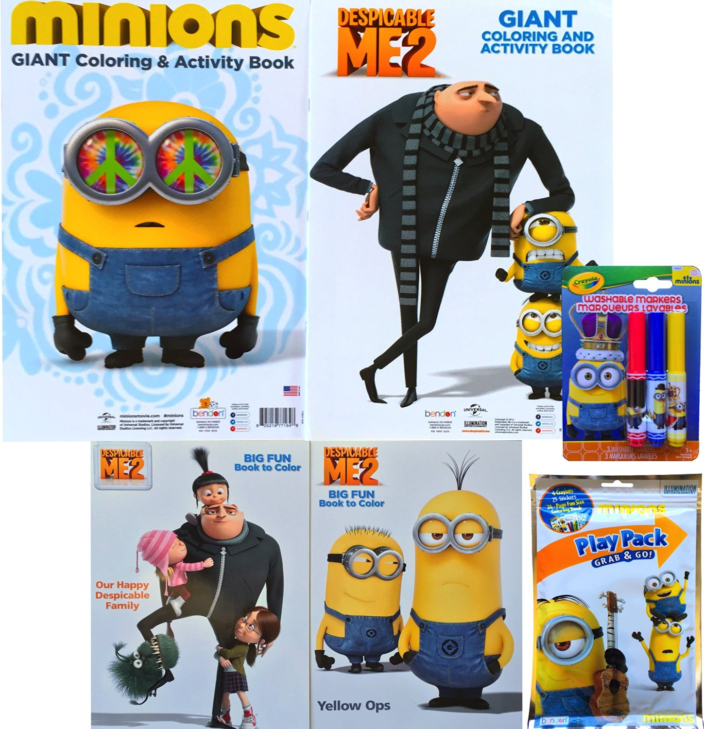 Buy Minions Movie Exclusive Giant Coloring and Activity