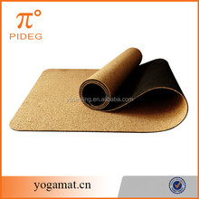 Washable Cork Yoga Mat With Private Label