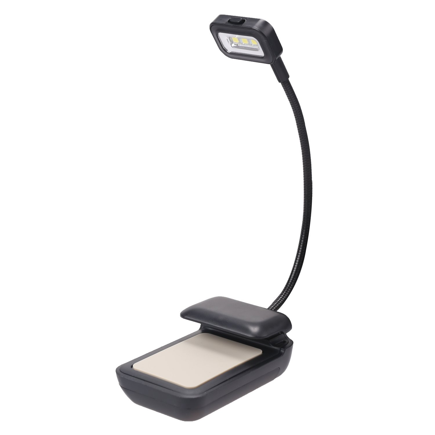 LEADSTAR LED Clip-On Reading Light Lamp for eBook Reader, Nook, Tablets, Book, Textbook, PDAs, Cell Phones, e-Link Display Device