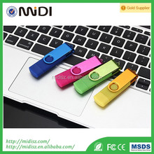 Wholesale OTG USB flash drive 4GB use for Smart Phone for laptop disk