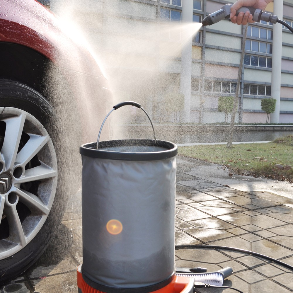 Mini size portable Outdoor High Pressure Steam Mobile Car Washer