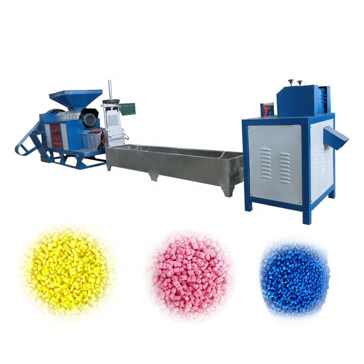 PP PE HUISDIER plastic pelletiseren machine / afval plastic recycle machine