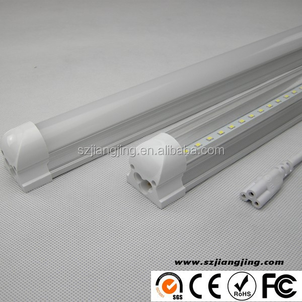 High lumen 4 Feet 6000K Led tube T8/T5 ingetrated led shop lights