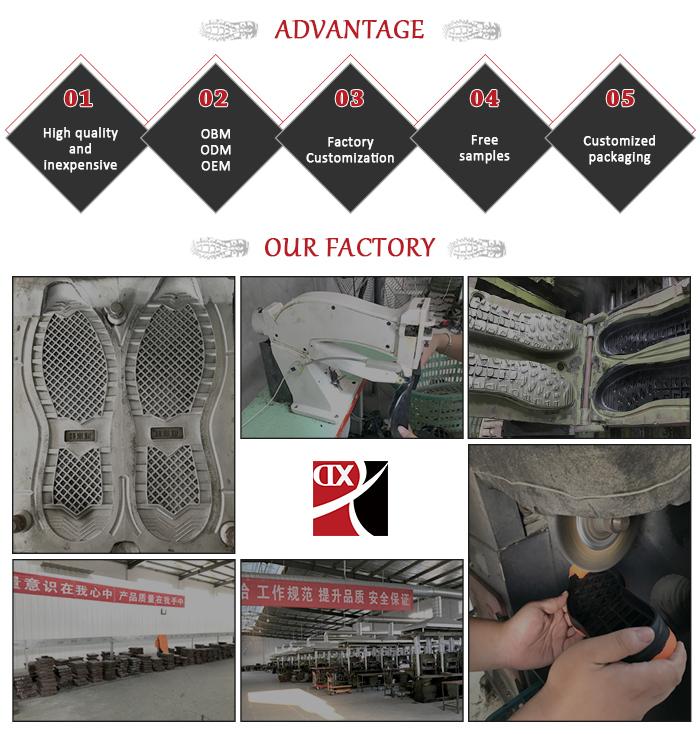 Customized wholesale men rubber comfortable shoe soles for crochet canvas sole