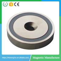 Strong Round Base Neodymium Pot Magnet Strong Powerful Pot Magnet