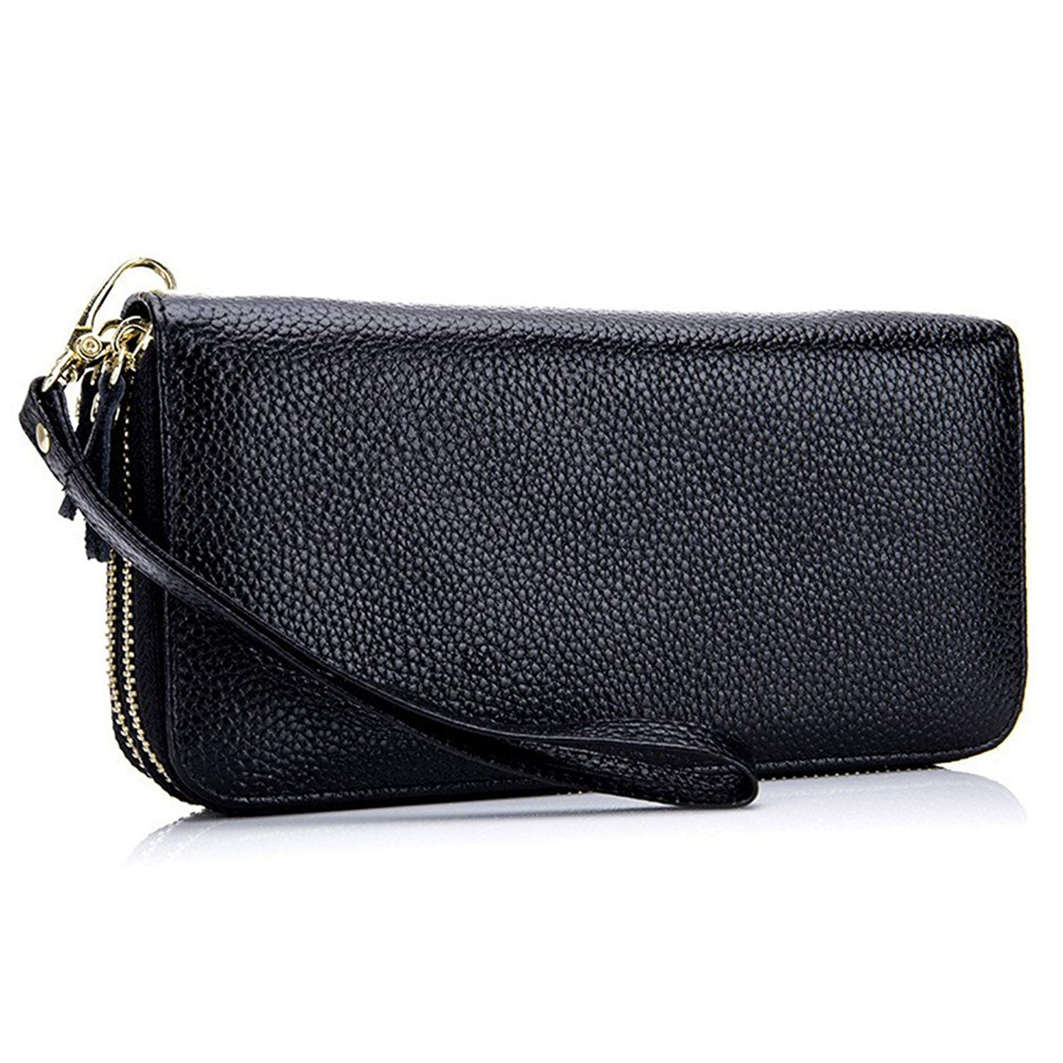 Cheap Ladies Leather Wallets Find Deals On Nucelle Women Real Genuine Purse Daily Backpack Blue Get Quotations Long Zipper Female Clutch Bags Phone Wallet Card Holder Wristlet 1190c