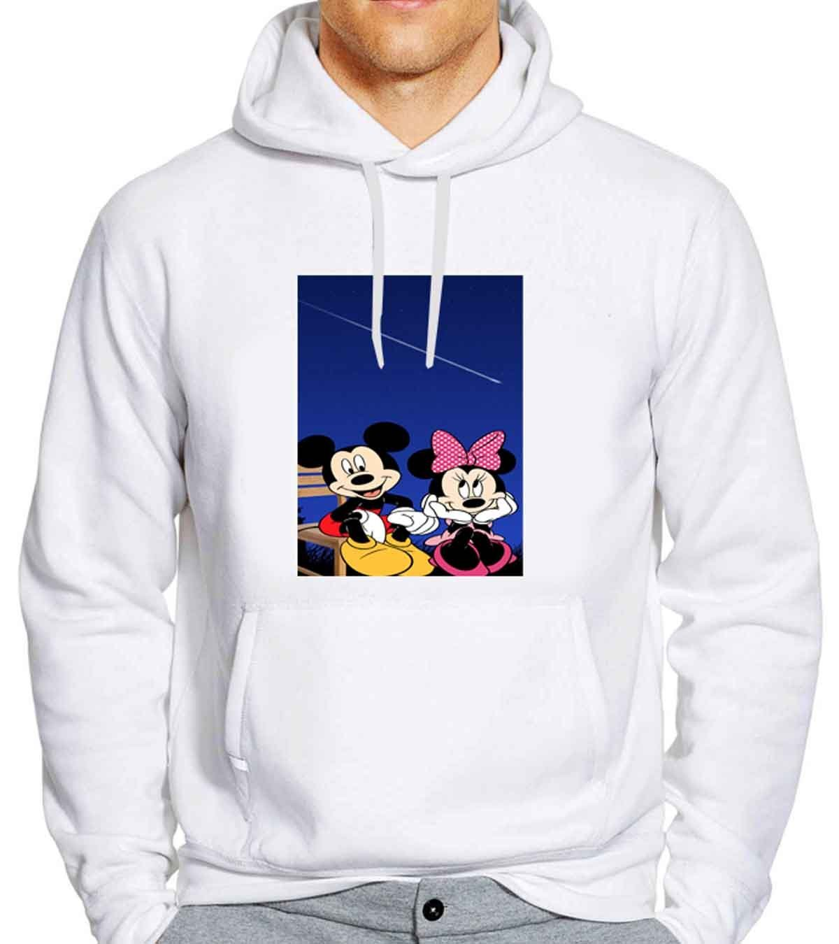 mickey and minie mouse 2 Unisex Hoodies