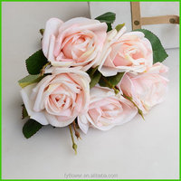 150652 Enchanting Lovely Blooming 5 rose Special classical birthday bouquet flowers wholesale