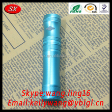 Custom Aluminum/SUS EGO Thread E cigarette Tube, Round Hollow Electronic Cigarette Parts Pass RoHS
