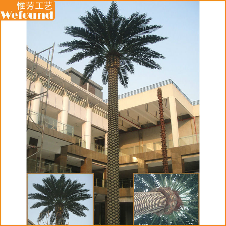 DP15104 large outdoor artificial canary date palm tree,landscaping trees