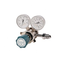 Inert Gas Regulator, Tweetraps Messing 0-100 psi Analytische Cilinder Regulator-CY-CGA-580-LD