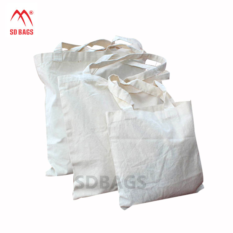 Wholesale fashion promotional custom printed waxed canvas bag