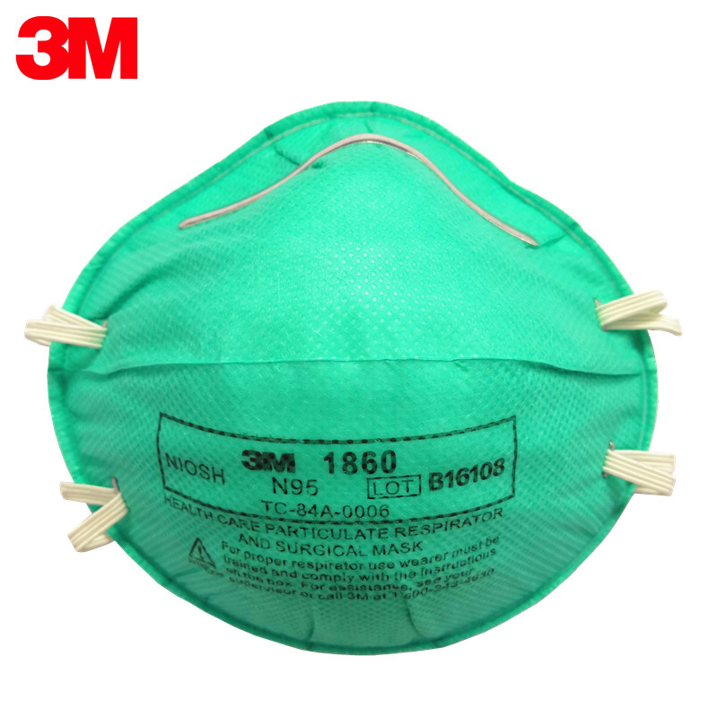 3m 1860 n95 respirator and surgical mask/bird flu