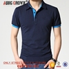 Cheap Men's Plain New Design Polo T-Shirt With Collar Solid Color