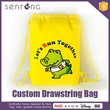 Non Woven Drawstring Backpack Bag Mesh Bags With Drawstring