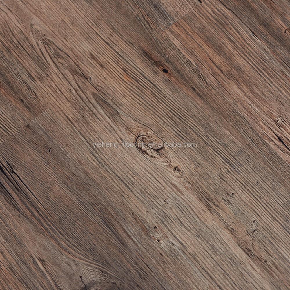 aspecto de madera bajo precio barato de vinilo suelo de plstico
