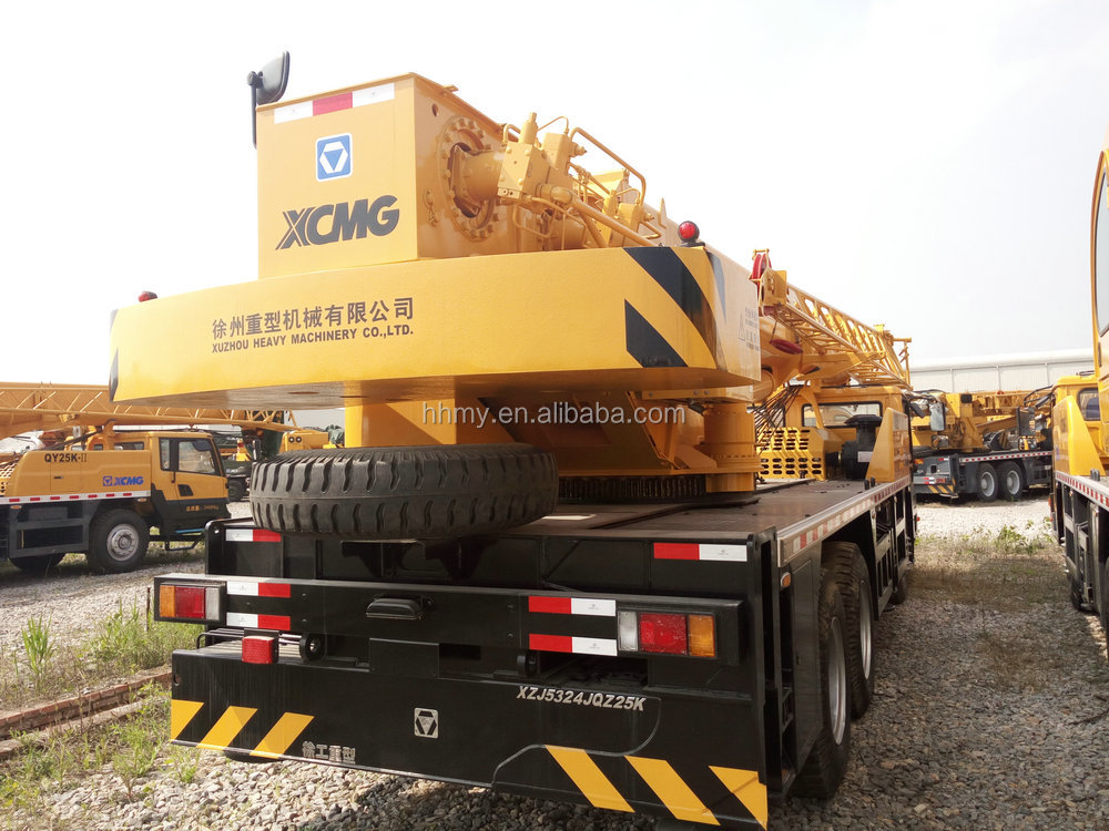 Used XCMG 25ton crane 60 ton tadano crane for sale in shanghai
