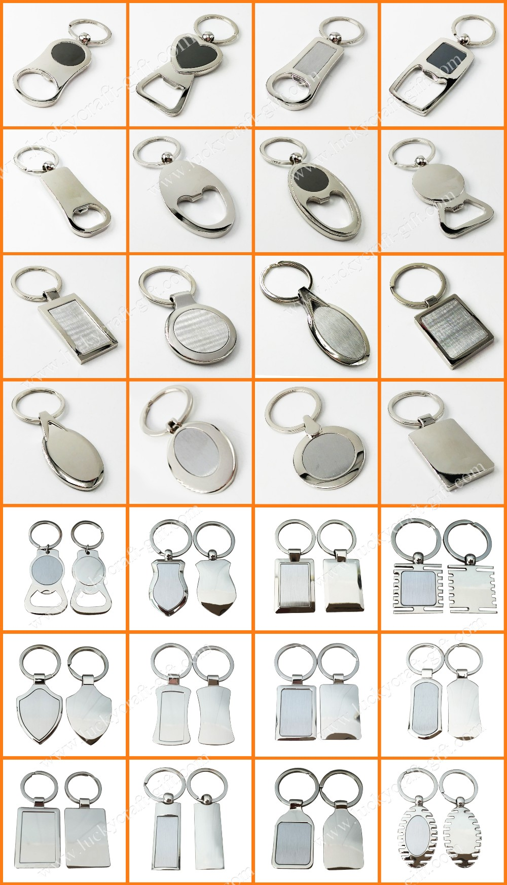 Custom blank metal keychain bottle opener/beer bottle opener keychain for sales