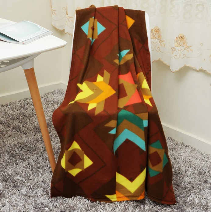 2019 new design colorful soft home textile flannel fleece fabric