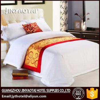 Wholesale Plain Linen Pillow Covers Cotton Hotel Bed Sheet Duvet Cover