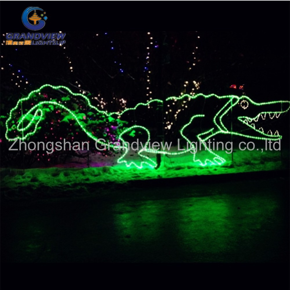 Hot Sale New Desin Waterproof Wire Frame Christmas Light Motif LED Rope  Light