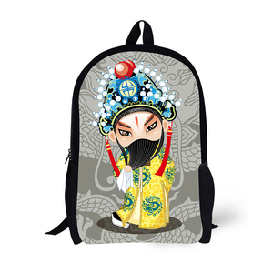 Most Fashionable Made in china beautiful printed backpack book bags with logo
