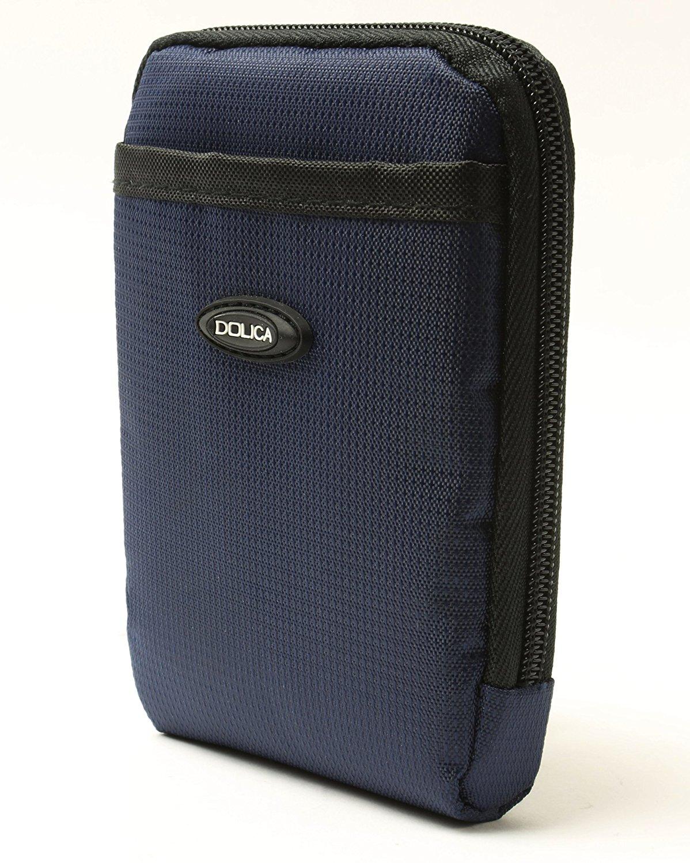 "Dolica HD-C100K 2.5"" Hard Drive Case (Blue)"