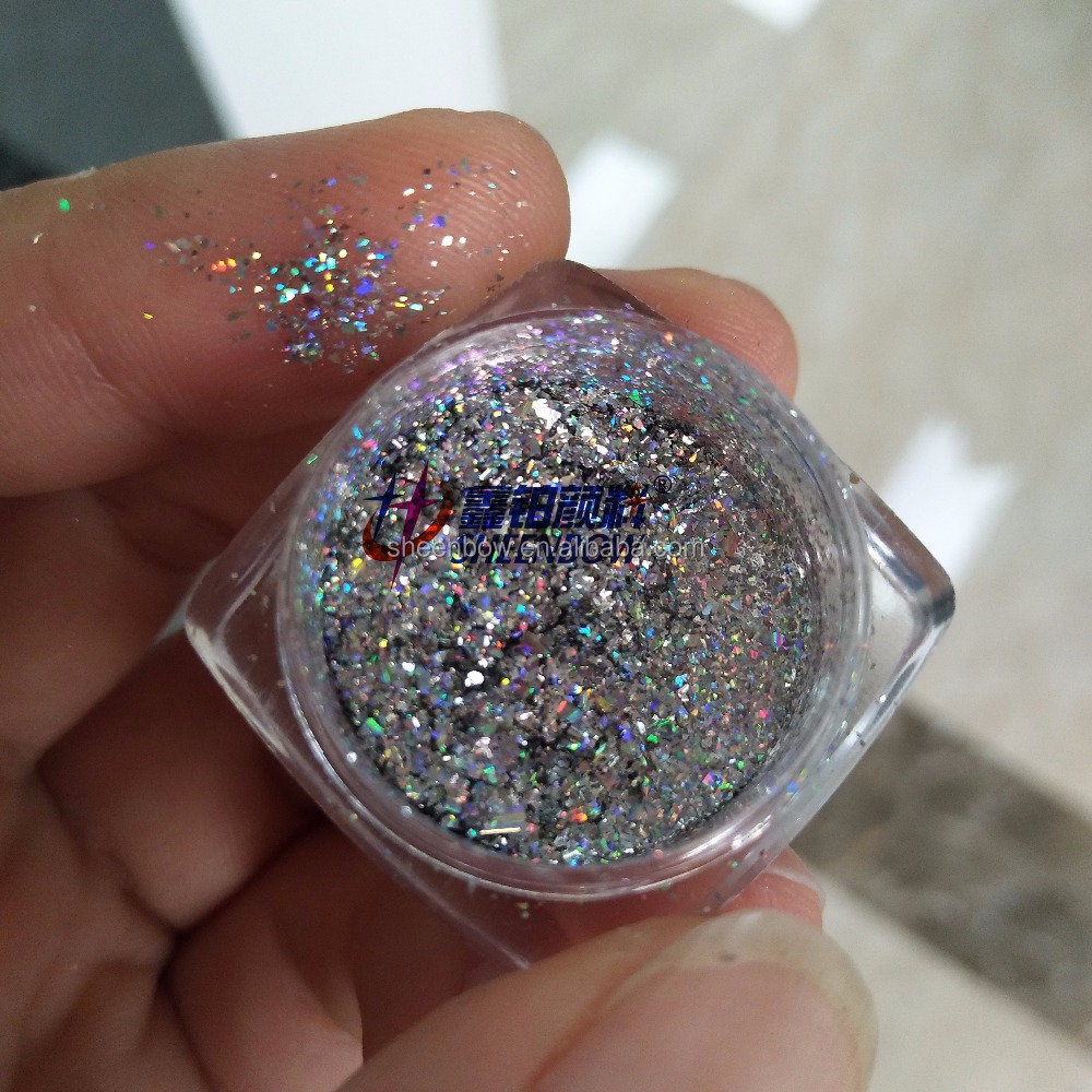 Galaxy Holographic Flakes Rainbow Holo Powder For Nials - Buy Galaxy ...