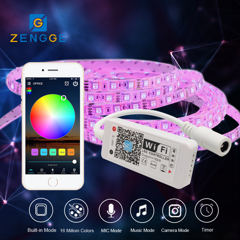 new products on the market,RGBW 2017 newest 12v mini led dimmer for 5050 smd rgb led strip by SmartPhone