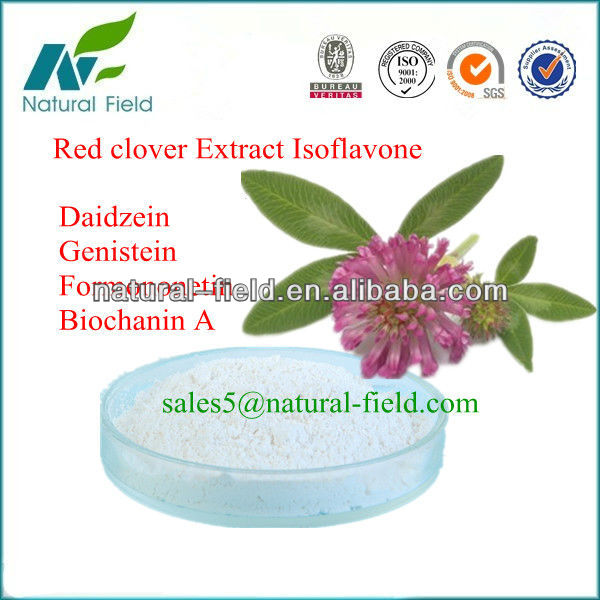 prevent breast cancer isoflavone powder from red clover extract