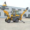 china suppliers WZ25-18 compact tractor backhoe loader