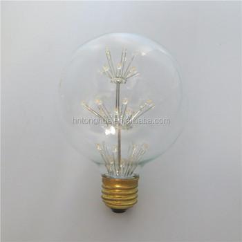 G80 Vintage Led Bulb Firework Filemant Antique Light