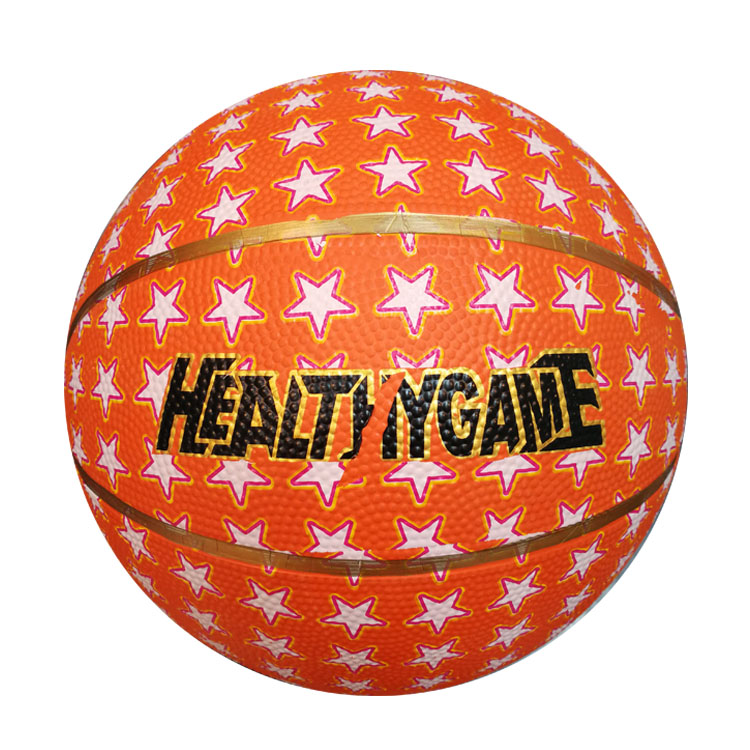 2020 factory wholesale custom official size 3 color rubber basketball