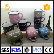 ISO 9000 Rongxiang ceramic factory hot sale coffee cup best gift new style cheap mug ceramic