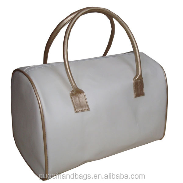 2014 promotional pvc leather ladies handbag