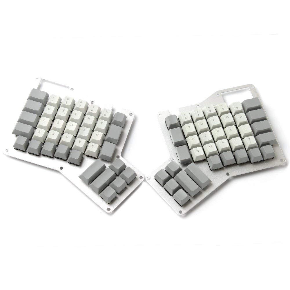 YMDK Cherry Profile Thick PBT Top Print Ergodox Keycap Set For Ergo Ergodox Keyboard