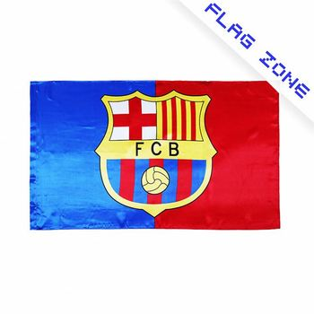 3836479a87a New selling special design football club barcelona pattern colorful  printing durable sports flags