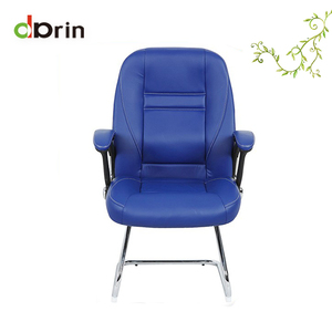 Blue Leather High Back Executive Chair, Blue Leather High ...