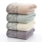 100 cotton solid color jacquard terry towel /towel fabric