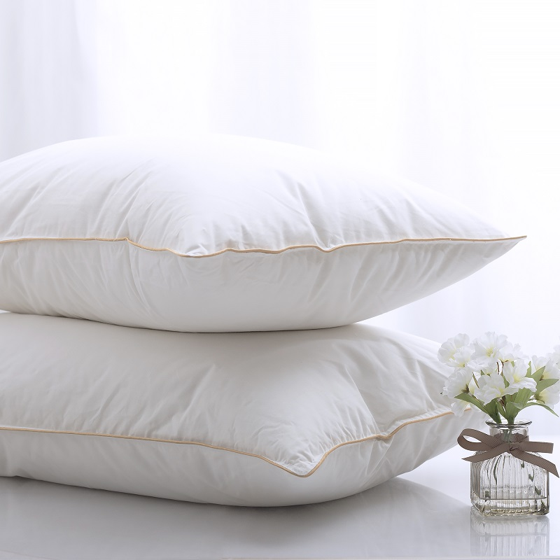 Continental Bedding 1200 g Premium White Goose Down luxury Pillow