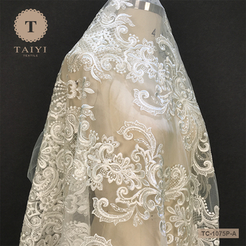 TAIYI Unique Design Guangzhou Lace Fabric