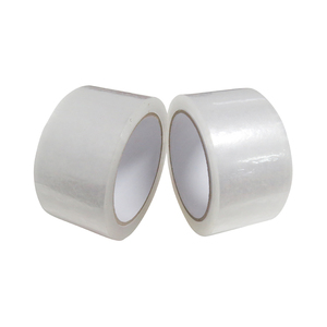 Low Noise Transparent Packing Tape With High Adhesion