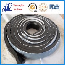 Butyl rubber waterstop water bar for concrete joints