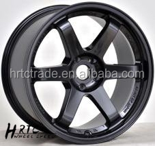 fashion style replica bullet alloy wheels for sport car light weight 19 inch fit for Japanese car