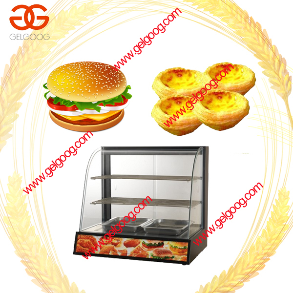 Hot Selling Glass Food Warmer Display/Mini Food Warmer Lamp Price/Best Quality Table Top Food Warmer Display