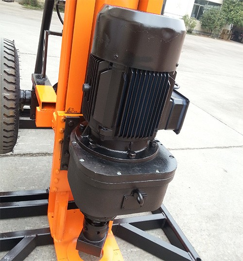 Hot sells top drive head portable water well drilling rig
